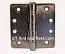 "Hager RCBB1279 Hinge 1 Each 4"" x 4"" 1/4"" Radius Ball Bearing Hinges US10a Antique Bronze"