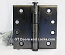 "Hager Hinge 1279 4-1/2"" x 4-1/2'"" Square Corner Hinges Black Bronze Oiled US10d"