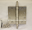 BB1279-US15-4.5x4.5 w/ Steeple Tips Satin Nickel