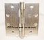 "Hager ECCO 1100 4-1/2"" x 4-1/2"" Hinges US26d Satin Nickel"