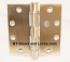 "Hager ECCO ECBB1101 4-1/2"" x 4-1/2"" Ball Bearing Hinge US32d Satin Stainless Steel"