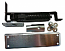 Bommer 7813 HD 646 Double Acting Floor Hinge Heavy Duty Up To 150 LBS US15 Satin Nickel