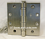 "Hager Hinges BB1279 5"" x 5"" Square Corner Hinges US15 Satin Nickel"