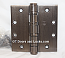"""Hager Hinge BB1168 Full Mortise Hinge 4 1/2"""" x 4 1/2"""" US10b Oil Rubbed Bronze with Non Removable Pin"""