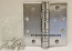 "Hager Hinge BB1168 Full Mortise Hinge 5"" x 5"" US26d Satin Chrome with Non Removable Pin"