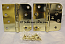 "Hager Hinges RC1847-1848 5/8 Radius x Square Corner 4"" x 4"" US3 Bright Brass 2 Each Hinges"