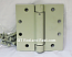 Hager Hinges 1250 Square Corner USP Prime Coat 4 x 4 Self Closing Hinge