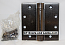 Hager Hinges 1250 Square Corner US10d Bronze Dark 4 x 4 Self Closing Hinge