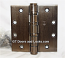 "Hager Hinge BB1199 Full Mortise Hinge 4 1/2"" x 4 1/2"" Us10b Oil Rubbed Bronze"