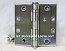 "Hager Hinge BB1191 Full Mortise Ball Bearing Hinge 4"" x 4"" US32d Satin Stainless Steel NRP"