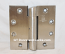 Hager IHTHB953 4.5x4.5in us32d Satin Stainless Steel Institutional Hinge-Full Mortise-Heavy Weight-Concealed Bearing-Stainless Steel Base NRP Hospital-Institutional Prison Hinge Detention Hardware