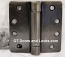 "Hager Hinges 1251 1/4"" Radius Corner US10b Oil Rubbed Bronze 4.5 x 4.5 Self Closing Hinge"