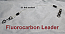 """100 LB EZ Clip Fluorcarbon Leader 9"""""""