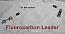 """150 LB EZ Clip Fluorcarbon Leader 12"""""""