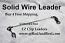 """150 LB EZ Clip Solid Wire Leader 12"""""""