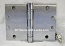 """Hager WTBB1279 Hinge 1 Each 4-1/2"""" x 6"""" Square Corner US26d Satin Chrome Hager Wide Throw Hinges Ball Bearing"""