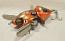 Mini Baby Spitzer 5 Rotten Tangerine, Musky Safari Tackle Company