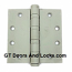 "Hager Hinge BB1168 Full Mortise Hinge 4 1/2"" x 4 1/2"" USp Primed"