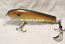 "Pearson Plugs 6"" Minnow Shallow Diving with Hatchet Trailer  Color, Golden Walleye"