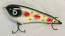 "Smuttly Dog Baits Lures 5"" Drop Belly, Color;  White Clown"