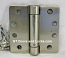 "Hager Hinges 1251 1/4"" Radius Corner us 15 Satin Nickle 4.5 x 4.5 Self Closing Hinge"
