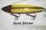 "Fat AZ 8"" Stinger Musky Glide Bait Gold Shiner"