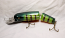 """Leo Lure-Musky Dawg-Jointed-6.5""""-Color Green Perch"""