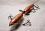 """RyLure Topper Minnow 9"""" Mid-Spin Color Brown Carp"""