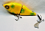 """DODO 6"""" Double Swimmer with Stinger Tail; Sparkling Yellow Fish"""