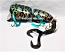 """Nimmer Swimmer 7"""" Mega Wolly Pog with Tail, Color Green Gold Tiger"""