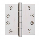 "Baldwin Hinges 1041 Ball Bearing 4"" x 4"" Lifetime Polished Nickel"