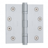 "Baldwin Hinges 1041 Ball Bearing 4"" x 4"" Lifetime Satin Nickel"