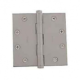 "Baldwin Hinges 1045 Square Corner 4.5"" x4.5"" Satin Nickel"