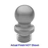 Ball Tip Finial Brushed Chrome