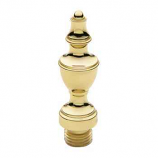 Urn Tip Finial Polished Brass