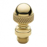 Acorn Tip Finial Polished Brass