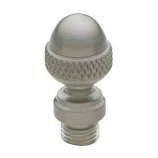 Acorn Tip Finial Satin Nickel