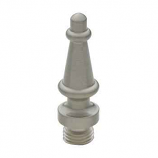 Steeple Tip Finials Satin Nickel