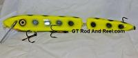 """Smuttly Dog Baits 15"""" Jointed Troller/Crankbait Color Chartreuse Bandit"""
