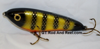 "Smuttly Dog Baits Lures 6"" Drop Belly, Color; Okoboji Perch"