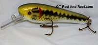 "Smuttly Dog Baits 6"" Troller/Crankbait Color Large Mouth Bass"