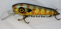 "Smuttly Dog Baits 6"" Troller/Crankbait Color Pumpkinseed Sunfish"