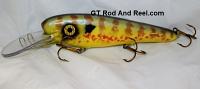 "Smuttly Dog Baits 8"" Troller/Crankbait Pumpkinseed Sunfish"