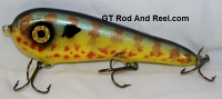 """Smuttly Dog Baits Lures 7"""" Stubby D, Color; Pumkinseed Sunfish"""