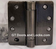 "Hager Hinges 1251 1/4"" Radius Corner US10d Dark Bronze 4 x4 Self Closing Hinge"