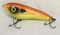 """Smuttly Dog Baits Lures 5"""" Drop Belly, Color;  Orange Crush"""