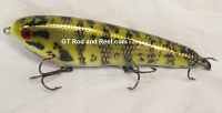 "Smuttly Dog Baits Lures 8"" Drop Belly 8DB Musky Glide Bait  Color: Michigan Small Mouth Bass"