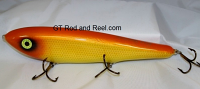 "Smuttly Dog Baits Lures 10"" Drop Belly 10DB Musky Glide Bait  Color: Goldfish Sucker"