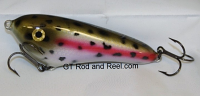 """Smuttly Dog Baits Lures 5"""" Drop Belly, Color; Rainbow Trout"""