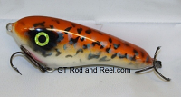 "Smuttly Dog Baits Lures 5"" Drop Belly, Color; Orange Crappie"